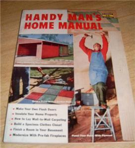 2-50's FACETT HOW TO Books HANDY MANs Home+ PLYWOOD PRO