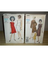 2 Vintage VOGUE Patterns ~ MoD DRESSES! #6294 & #7162! - $16.99