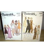 2 BUTTERICK MoD 1pc EVENING Dress/PANTS + Dress/SHAWL!! - $14.99