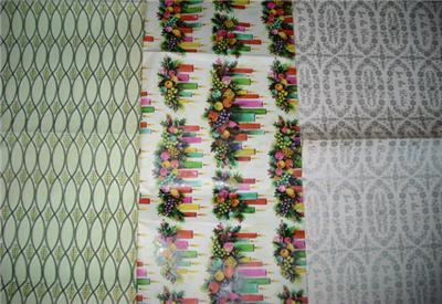 LoVely 50s/60s Vintage Gift Wrap WRAPPING PAPER SHEETS!