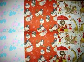 DARLIN 1950's/1960's Retro 3pc Gift Wrap WRAPPING PAPER SHEETS!!! - $14.00