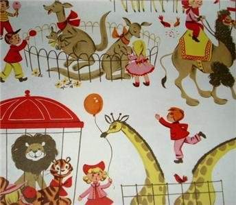 DARLIN 50s/60s Retro Gift Wrap WRAPPING PAPER SHEETS!!!