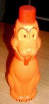 Fabulous Vintage Figural Pluto Walt Disney Colgate Soaky / Soakie Soap Bottle - $12.00