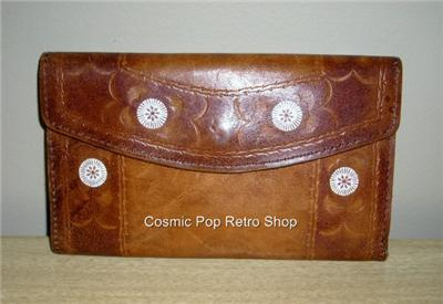 FUN Retro MoD Leather & Suede Flower & Starburst WAL
