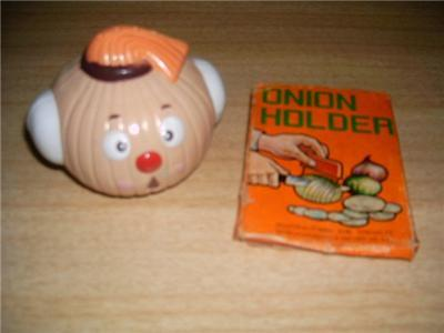 Darling Retro ANTHROPOMORPHIC Onion Head + Onion HOLDER