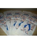 DARLING Vintage COWBOY Graphic TEXAS SIZE POPCORN BAGS! - $16.99