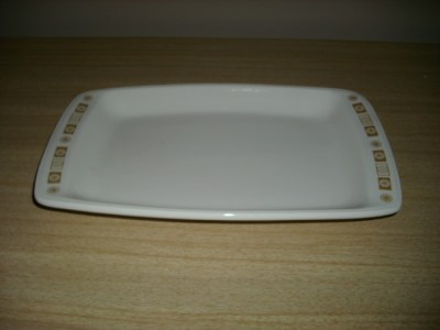 WoW Retro FuN BUFFALO CHINA ATOMIC Starburst PLATTER!
