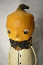 Bethany Lowe Pumpkin Head Figure Halloween image 3
