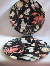 """2 Villeroy and Boch  """" FRUITS DE MER""""  retired  12"""" Service Plate charger - $113.36"""