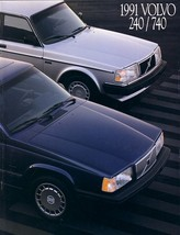 1991 Volvo SEDANS brochure catalog US 91 240 740 Turbo - $8.00