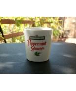 PEPPERMINT SCHNAPPS Ceramic Shot Glass - Great Item! - $1.99