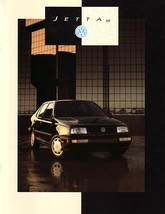 1993 Volkswagen JETTA sales brochure catalog US 93 VW III - $8.00