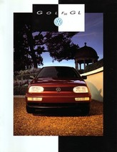 1993 Volkswagen GOLF GL sales brochure catalog US 93 VW III - $9.00
