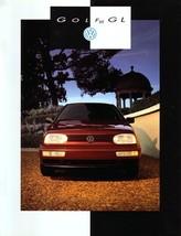 1993 Volkswagen GOLF GL sales brochure catalog US 93 VW III - $8.00