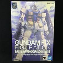 GUNDAM: Fix Figuration Metal Composite RX-78-02 Gundam (40th Anniversary... - $257.35