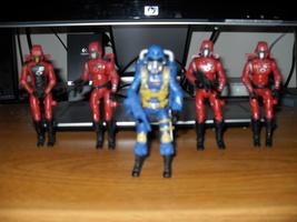 GI Joe  Cobra Lot Of Five Figures - $22.99