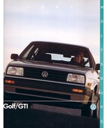 1990 Volkswagen GOLF/GTI WOLFSBURG EDITION brochure catalog US VW - $8.00