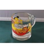 McDonald's Garfield 1978 Glass Coffee Mug Anchor Hocking VGC - $5.50