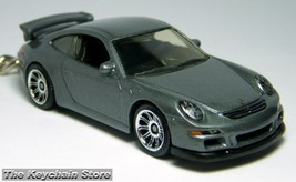 KEY CHAIN 07/2008/2009/​2010 GREY PORSCHE 911 GT3 PORTE CL - $24.98