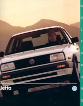 1990 Volkswagen JETTA WOLFSBURG EDITION brochure catalog US VW - $9.00