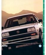 1990 Volkswagen JETTA WOLFSBURG EDITION brochure catalog US VW - $8.00