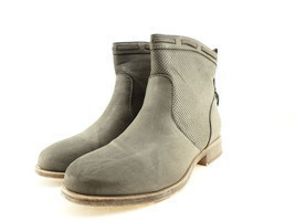 Journee Collection Women's Zandra Bootie, Grey Nubuck, Size 7.5 B(M) US - $34.64