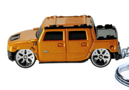 Key Chain 2003/2009 Cooper Orange Red Hummer H2 4X4 Sut - $24.95