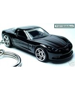 KEY CHAIN 2006~2007~2008~​2009 BLACK CHEVY CORVETTE C6 Z - $35.93