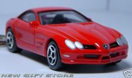 KEY CHAIN 2005~2011 RED Mc LAREN MERCEDES SLR McLaren - $34.98