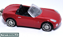 KEY CHAIN RED PONTIAC SOLSTICE/SKY CONVERTIBLE RING KEYCHAIN - $35.97