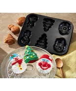 Christmas Shapes Holiday Carbon Steel Baking Pa... - $13.50