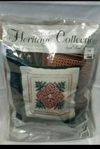 Everlasting Rose Pillow Needlepoint Kit 06012 Heritage Collection Elsa W... - $32.47