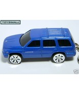 KEYRING BLUE DODGE DURANGO SLT 4X4 KEY CHAIN RING KEYCHAIN - $19.94