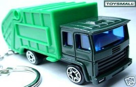 KEY CHAIN RING FOB TRASH GARBAGE REFUSE RECYCLING TRUCK - $19.94