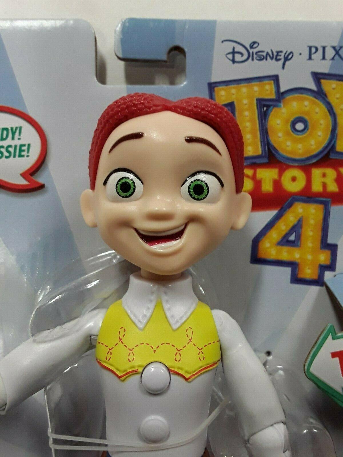"Disney Pixar Toy Story 4 True Talkers Talking JESSIE Figure 8.8"" BRAND NEW HTF image 2"
