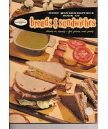 Good Housekeepings Book of Breads and Sandwiches Vintage  - $4.50