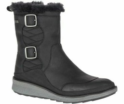 MERRELL TREMBLANT EZRA ZIP POLAR WOMEN'S BLACK WATERPROOF BOOTS, J95116 - $99.99