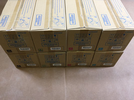2 Sets Genuine Konica Minolta TN711 CMYK Toner for Bizhub C654 C654e C75... - $400.95