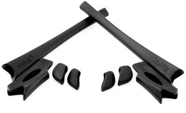 Replacement Rubber Kit for Oakley Flak Jacket XLJ Earsocks & Nosepads Black - $10.78