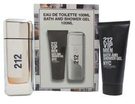 Carolina Herrera 212 Vip 2 Piece Gift Set Eau De Toilette Spray 100ML Nib - $69.50