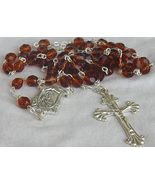 Brown  beads Rosary - $25.00