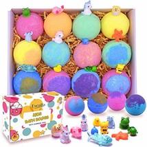 Kids Bath Bombs with Surprise Toys Inside - Lush Bubble Bath Fizzies Vegan Essen - $60.68