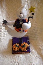 Avon Halloween Bobble Ghost Figure Figurine New In Box - $7.95