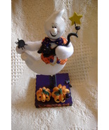 Avon Halloween Bobble Ghost Figure Figurine New In Box - $7.95