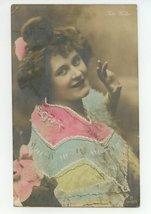 1906 Vintage Antique French Post Card Postcard Woman PC Rita - $15.00