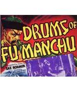 DRUMS OF FU MANCHU, 15 Chapter Serial - $19.99