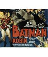 Batman and Robin, 15 Chapter Serial - $19.99