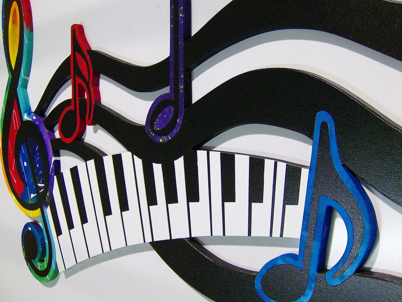 Image Gallery Of Colorful Piano Images