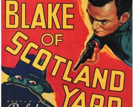 Blake of Scotland Yard, 15 Chapter Serial - $19.99