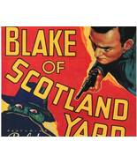 Blake of Scotland Yard, 15 Chapter Serial - $19.99